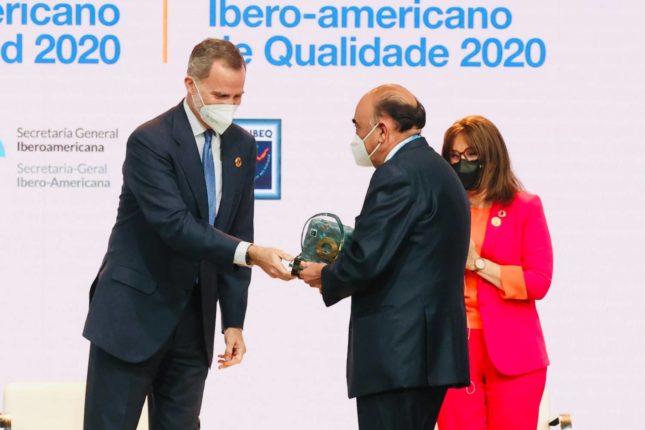 Banco Santander España ha sido galardonado con el Premio Iberoamericano de la Calidad 2020