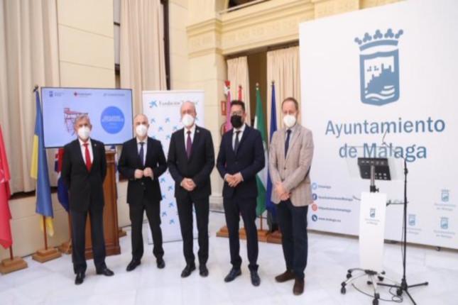 La Caixa y Cruz Roja ayudan a los mayores de Málaga