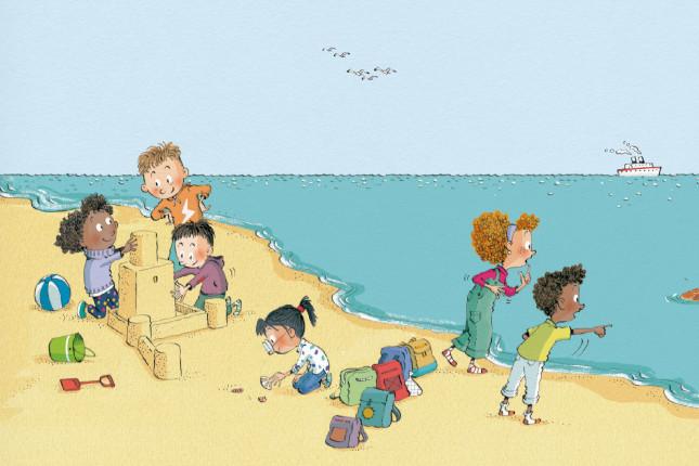 CaixaBank edita un libro infantil sobre el medio ambiente