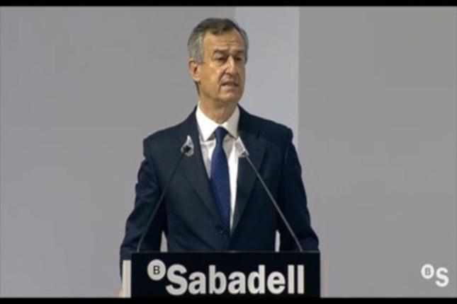 González-Bueno (Banco Sabadell) defiende la buena gestión de los ICO