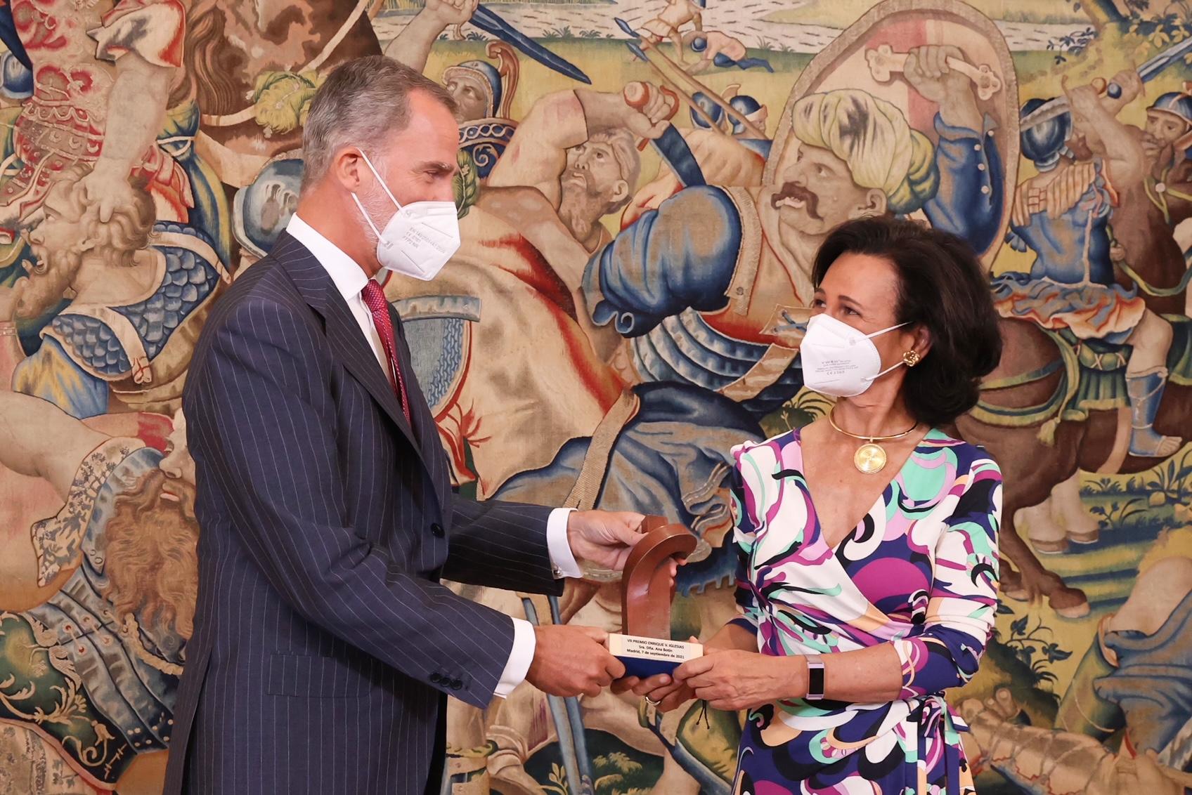 Ana Botín recibe el Premio Enrique V. Iglesias por su contribución al crecimiento de Iberoamérica