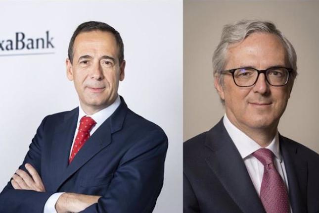 Gortázar y Pano de CaixaBank son los mejores de Europa en sus cargos