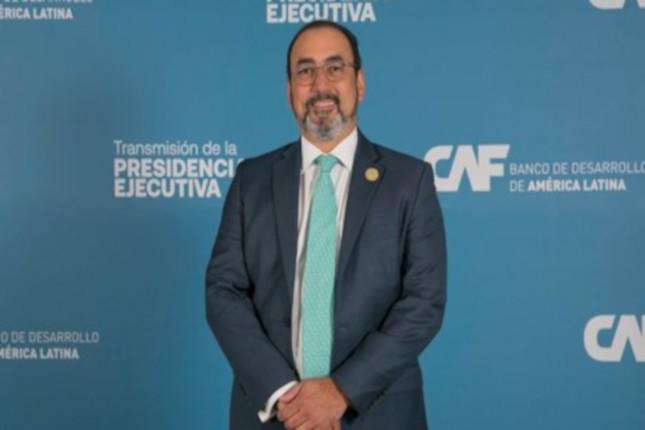 Sergio Díaz-Granados, nuevo presidente de CAF
