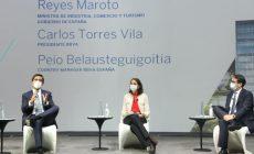 Carlos Torres Vila se reúne con empresarios y consejeros asesores regionales de BBVA en España