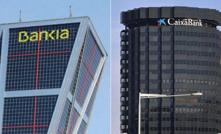 Bankia y CaixaBank pactan no pagar dividendos hasta el cierre de la fusión
