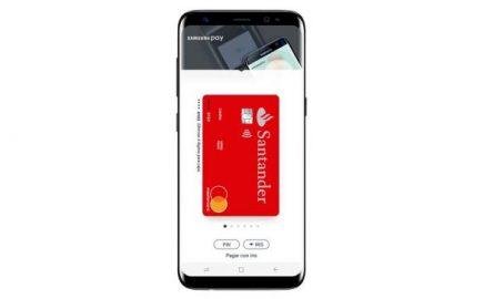Banco Santander lanza el servicio de pago por móvil con Samsung Pay