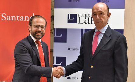 Banco Santander se une a la Fundación LAFER para reforzar su colaboración con la formación del sector agroalimentario